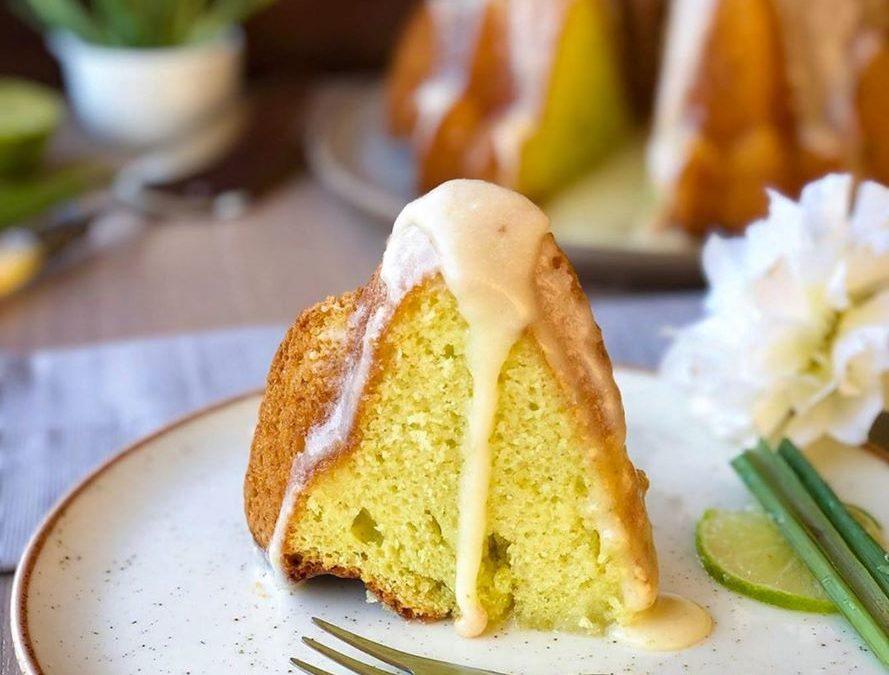 Bolo de capim-limão/cidreira