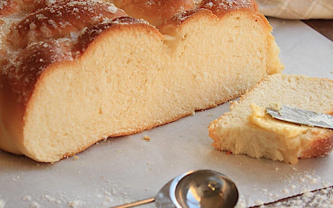 Pão doce de mandioca